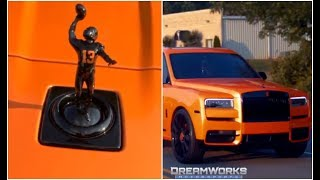Odell Beckham Customized Rolls Royce SUV Cleveland Browns Edition