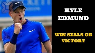 Kyle Edmund win seals GB victory over Serbia - Breaking News Today USA
