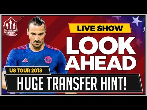 Zlatan\'s Man Utd Transfer Hint! Manchester United vs AC Milan LIVE Preview