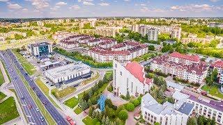 Lublin z lotu ptaka - Czuby, Stare Miasto, Za Cukrownią, Czechów, Wrotków...