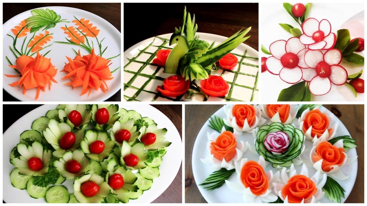 5 Super Salad Decoration Ideas - Super Salad Competition in School