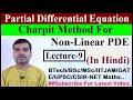 Partial Differential Equation - Charpit