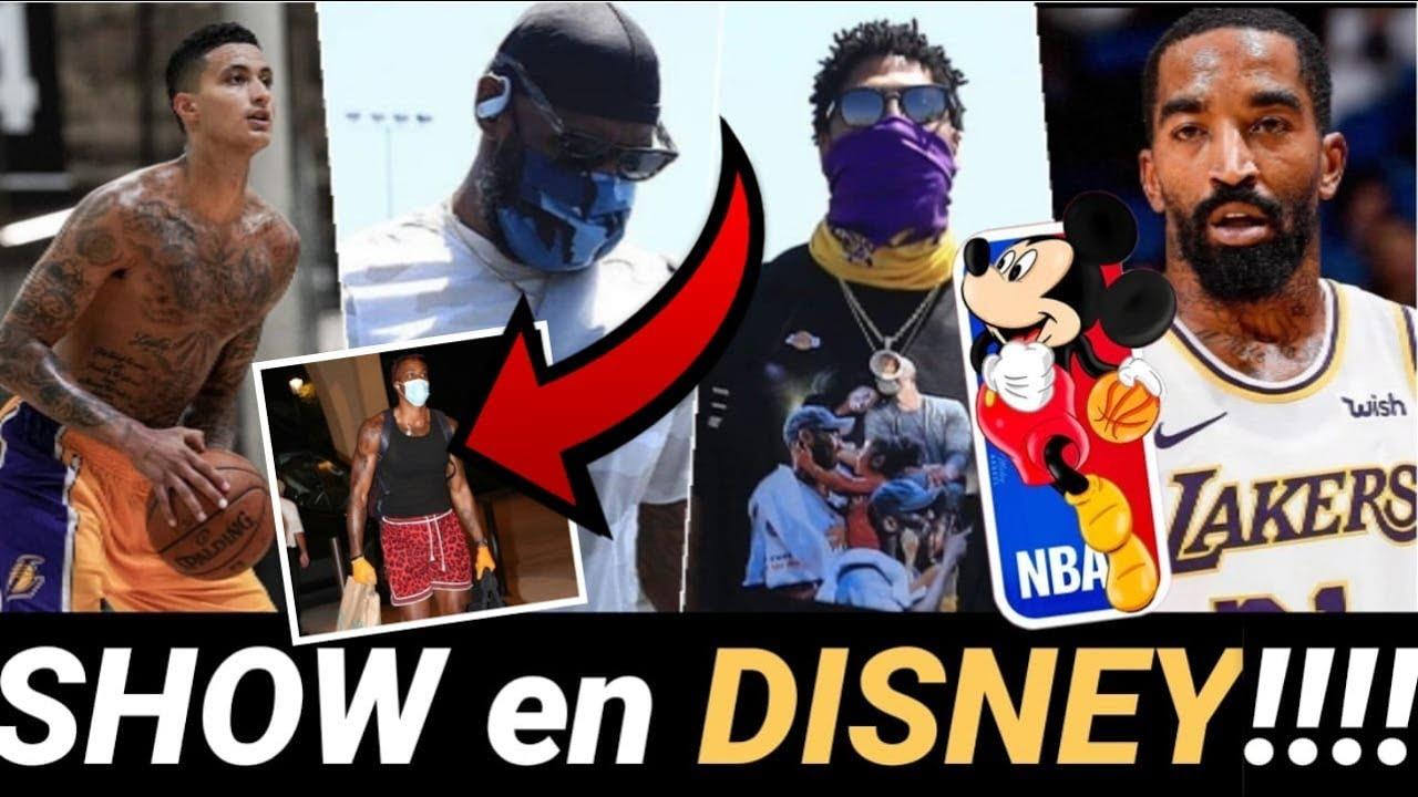💥 GRANDES NOTICIAS!! 😱 LAKERS llega a DISNEY NBA!! 👀 JR Smith la LÍA!!! 🤣