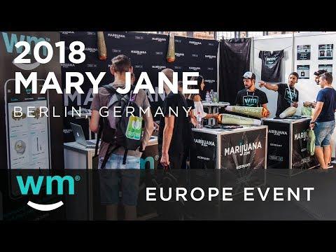Mary Jane Berlin 2018 | Weedmaps Europe