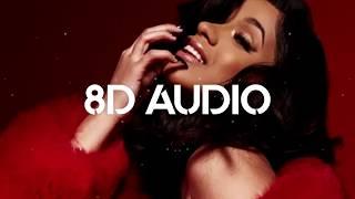 Cardi B, Bad Bunny & J Balvin - I Like It (8D AUDIO)