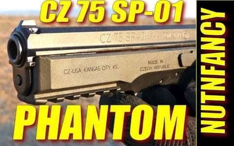 CZ 75 SP-01 Phantom:
