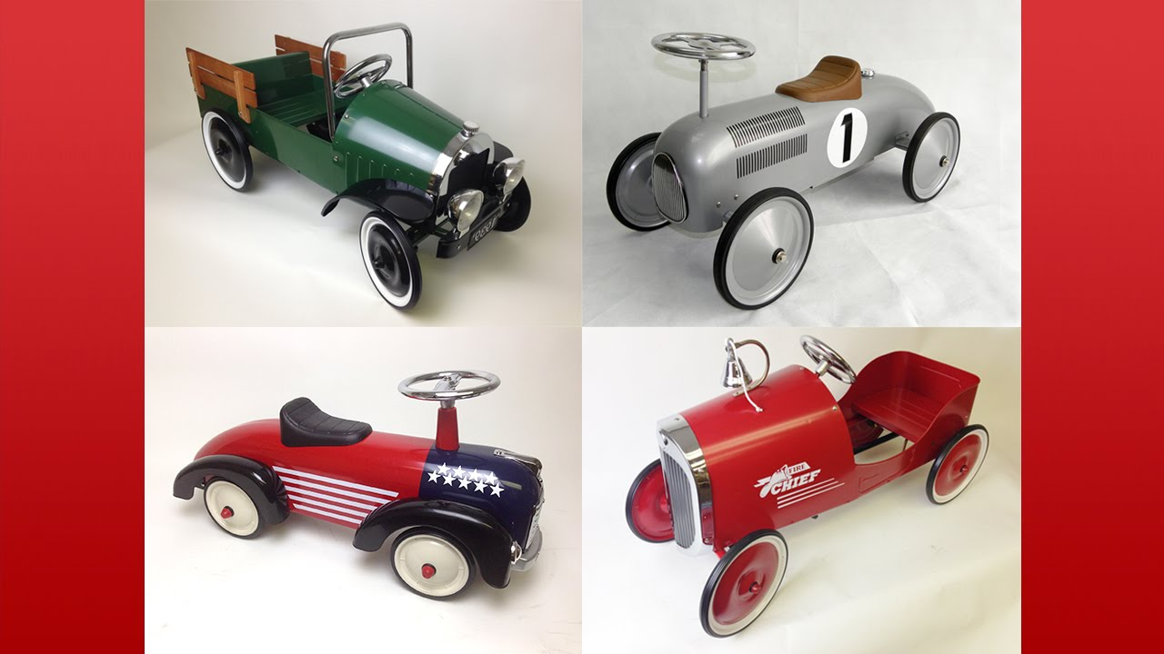 About PedalCar.com | Pedal Cars And Pedal Car Parts - YouTube