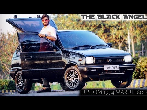 Best Custom Maruti 800,Sparkel Paint,Biggest Music Setup In India,Straight Pipe Exhaust,2 Seater