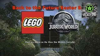 Back to the Future Easter Egg - LEGO Jurassic World