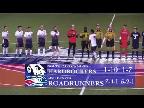 Men's Soccer vs South Dakota Mines - MSU Denver