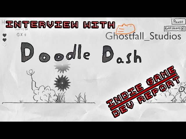 Indie Game Dev Report ep 9 Interview with Ghostfall Studios on Doodle Dash