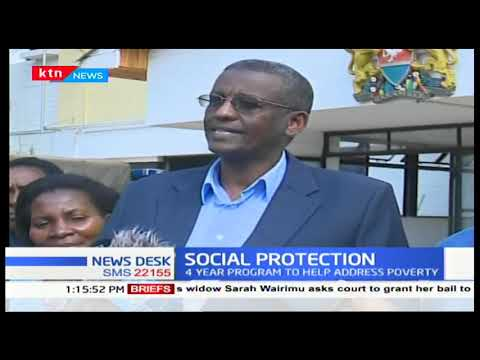 4-year cash transfer program launched in Murang\'a to bridge high poverty levels