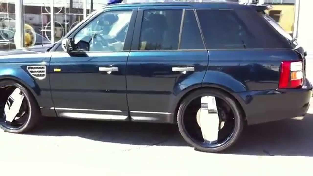 24 Quot Status Grinder Color Matched Range Rover Sport Done