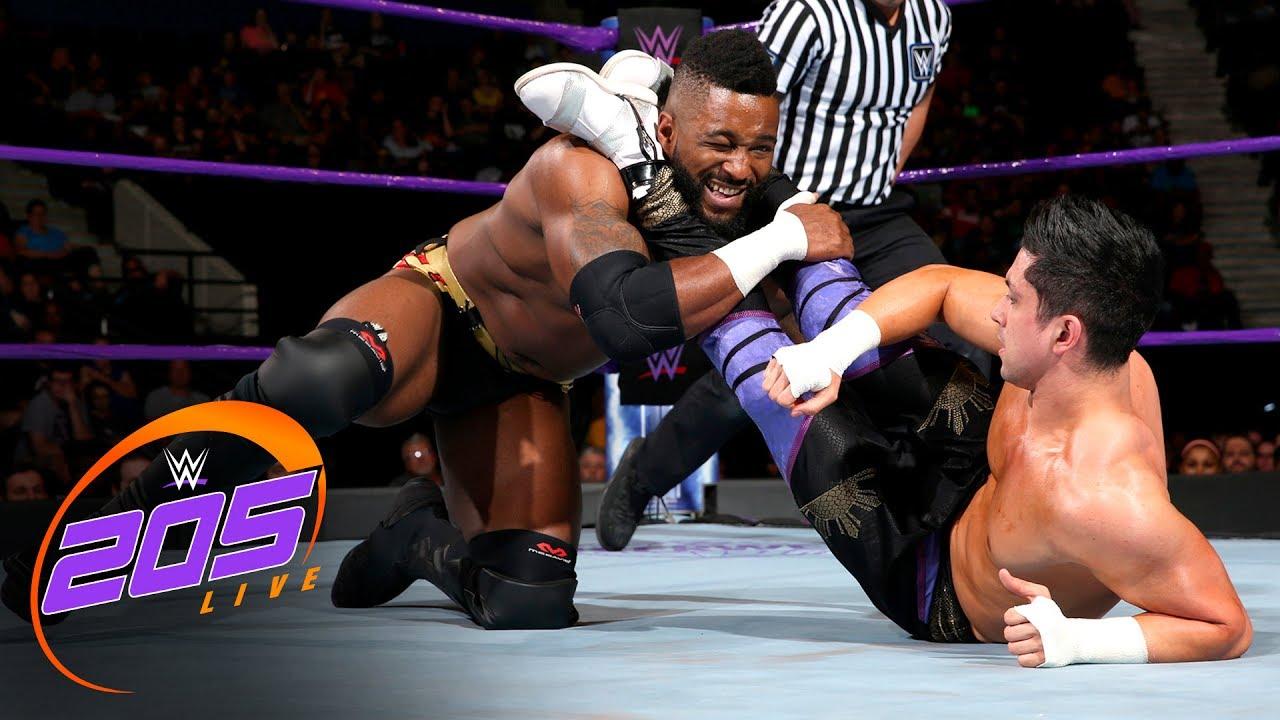 Download Rich Swann & Cedric Alexander vs. TJP & Tony Nese: WWE 205 Live, July 25, 2017