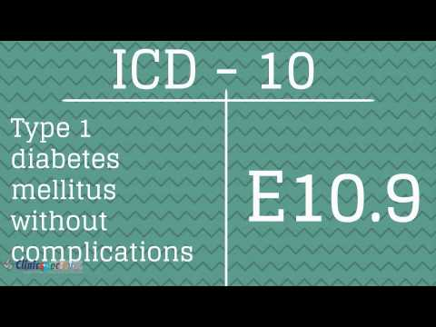 ICD-9 to ICD-10 Codes for Diabetes Mellitus