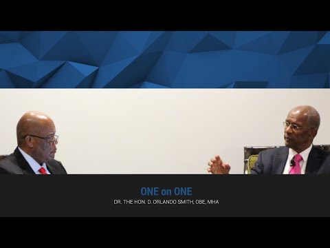 One on One with Dr. the Hon. D. Orlando Smith, OBE, MHA   BVI Business Outlook 2016