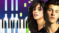 Shawn Mendes, Camila Cabello - Señorita  (Piano Tutorial)