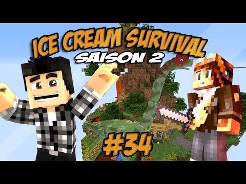 NOS NOUVEAUX POTES !! - Ice cream survival s2 #34