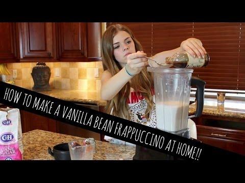 How to make a vanilla bean frappuccino ice cream