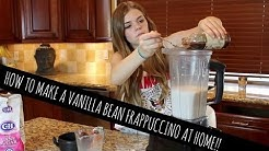How To Make A Vanilla Bean Frappuccino At Home | Griffin Arnlund
