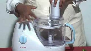 KA-SK3002 Singer Food Processor Training - Part-01/02