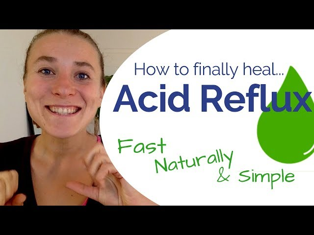 Acid Reflux - How to Stop Acid Reflux Fast Without Medication or Digestive Supplements