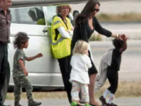 Angelina Jolie & her kids - I Turn to You