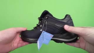 Видеообзор - Кроссовки осенне-зимние водонепроницаемые кожаные мужские Grisport Red Rock (11103v75)