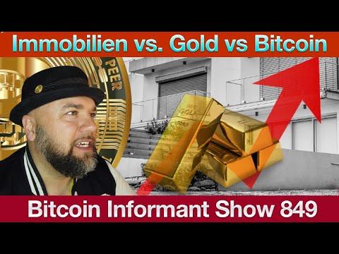#849 Bitmex BTC Holdings fallen, Privatsphäre bei XRP & Schutz vor Inflation - Immobilien, BTC Gold