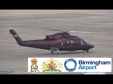 The Queen's Helicopter Flight TQF1R (Unknown to BHX/BHX to Unknown)