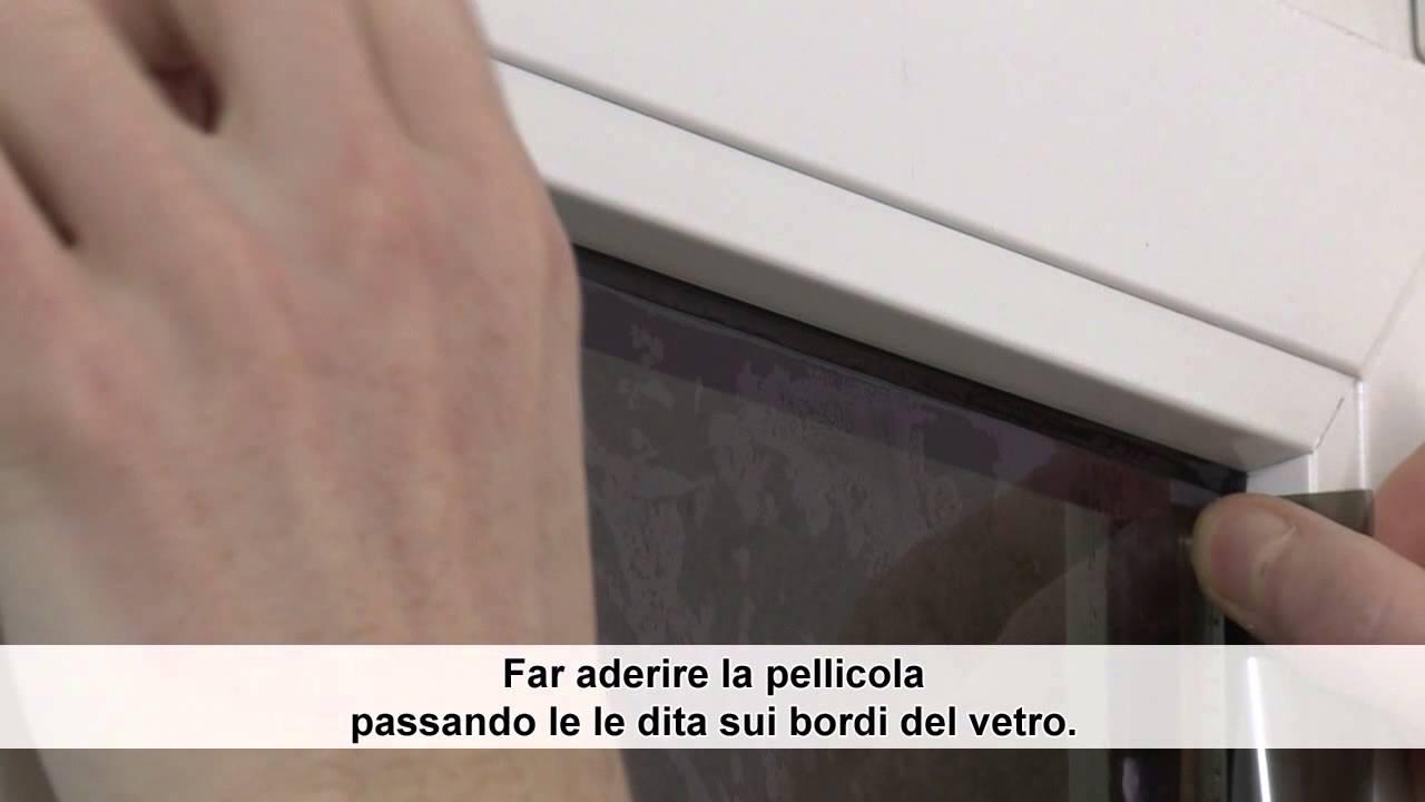 Procedura d 39 installazione pellicole oscuranti youtube - Pellicole oscuranti per vetri casa ...