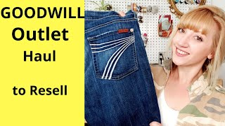 Goodwill Outlet Bins Haul | Thrift Haul to Resell for Profit on Poshmark | #Thrifter #Poshmark