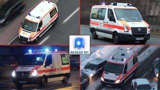 KTW Rettungsdienst Erlangen (Zusammenschnitt)