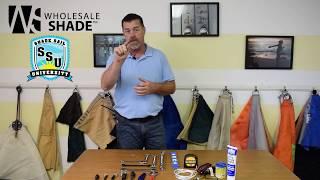 Shade Sail Installation Tool Kit