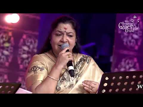 """Yeh Haseen Wadiya"" By K.S. Chitra And Rajesh Krishnan At 55th Bengaluru Ganesh Utsava"