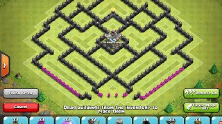 Clash Of Clans | Secret Base Reveal! | Town Hall Level 9 Farming Base!