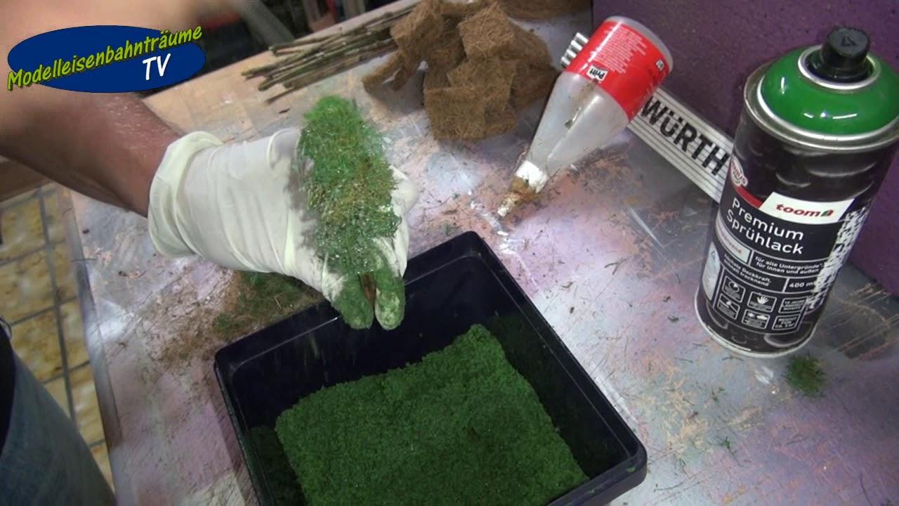 Bäume Selber Bauen Für Die Modellbahn