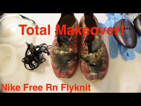 Nike Free Rn Flyknit Deep Clean