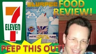 7-Eleven® Pineapple Coconut Lime Slurpee™ Review! Peep THIS Out!