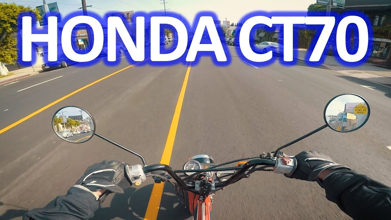 1982 Ct70 First Ride And Review Honda Trail 70 Build Series 1970 Paint Colors
