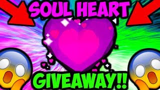 SOUL HEART GIVEAWAY!! PET SECRETO!! (Bubble Gum Simulator Roblox)