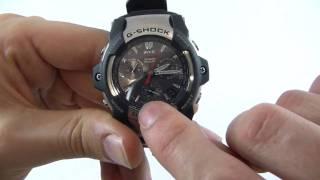 Men's Casio G-Shock Giez Wave Ceptor Chronograph Watch GS-1100-1AER - Watch Shop UK