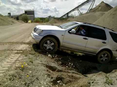 Ami Off Road 4x4 Performance Ml W 163 Youtube