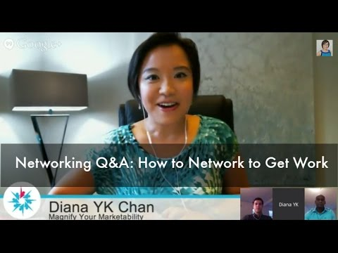 Networking Q&A: How to Network to Get Work