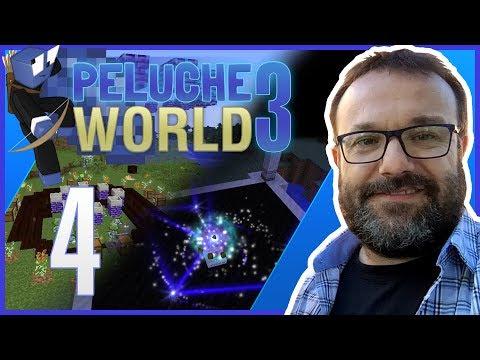 Peluche World Episodio 4 - Un poco de minería y mobs enloquecidos - Minecraft con MODS -