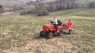 Mini 070 traktoristka 2