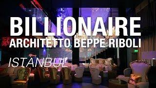"""Arch. Beppe Riboli """"Il Billionaire di Istanbul per Briatore con Faraone"""""""