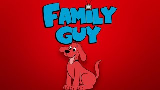 Clifford the Big Ręd Dog References in Family Guy