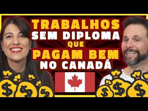 TRABALHOS MAIS BEM PAGOS NO CANADÁ QUE NÃO PRECISAM DE DIPLOMA (E QUANTO GANHAM)