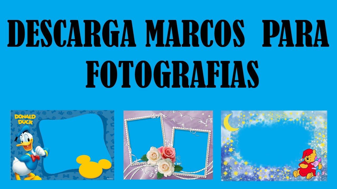 DESCARGA 144 MARCOS PARA FOTOGRAFIAS - MEGA - YouTube